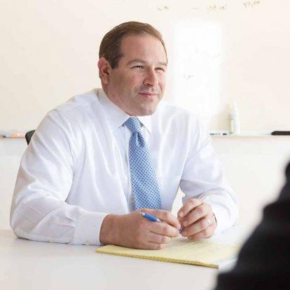 Aaron Garber, partner, bankruptcy lawyer